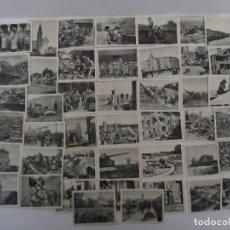 Militaria: DER WELTKRIEG 1914-18. 44 CROMOS I GUERRA MUNDIAL EN BLANCO Y NEGRO . AÑO 1936. Lote 77348589