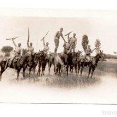 Militaria: FOTOGRAFÍA GUERRA DE ÁFRICA - ALFONSO XIII. Lote 77409509