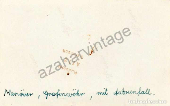 Militaria: WWII, ACCIDENTE DE TROPAS ALEMANAS, 108X68MM - Foto 2 - 78304289