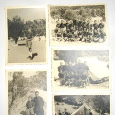Militaria: 5 FOTOGRAFIAS FRENTE DE JUVENTUDES OJE. Lote 79096485