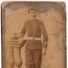 Militaria: FOTOGRAFÍA MILITAR REGIMIENTO Nº1 - ARTILLERÍA 10,5 X 16,5. Lote 79775201