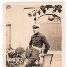 Militaria: FOTOGRAFÍA MILITARE CUERPO DE ARTILLERÍA ALFONSO XIII - 8,5 X 6. Lote 79816689