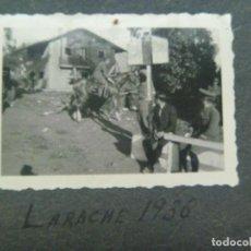 Militaria: GUERRA CIVIL : MILITARES DE CABALLERIA, UNO A CABALLO. LARACHE 1936. Lote 79895033