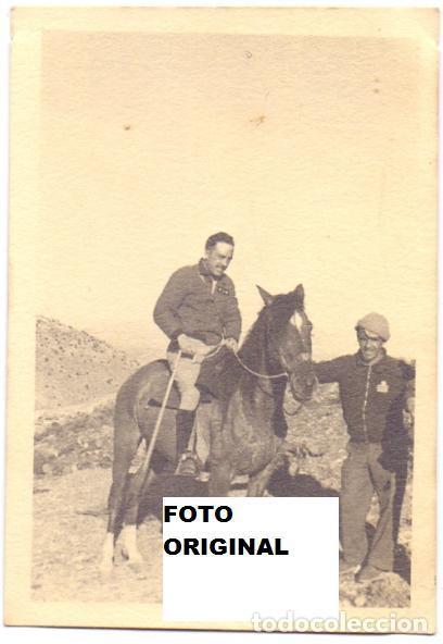 55 DIVISION EN LAS QUEBRADAS-ALBARRACIN(TERUEL) GUERRA CIVIL (Militar - Fotografía Militar - Guerra Civil Española)