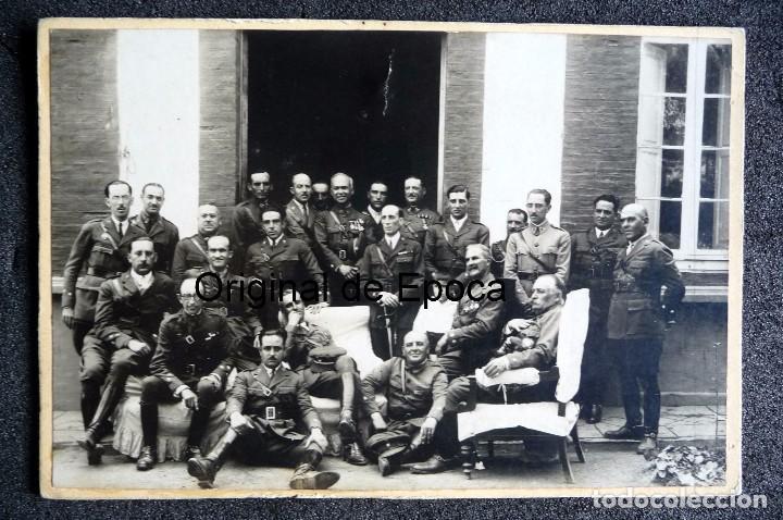 (JX-170351) FOTOGRAFÍA DE GRUPO DE JEFES Y OFICIALES DE CABALLERIA , AÑOS 30 (Militar - Fotografía Militar - Otros)