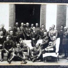 Militaria: (JX-170351) FOTOGRAFÍA DE GRUPO DE JEFES Y OFICIALES DE CABALLERIA , AÑOS 30. Lote 79970173