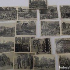 Militaria: DER WELTKRIEG 1914-18. 31 CROMOS-FOTOS I GUERRA MUNDIAL EN BLANCO Y NEGRO . AÑO 1936. Lote 80037573