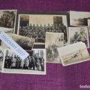 Militaria: COLECCION DE FOTOGRAFIAS MILITARES ANTIGUAS - CON INÉDITA FOTO DE FRANCO EN COCHE - VINTAGE. Lote 80100057