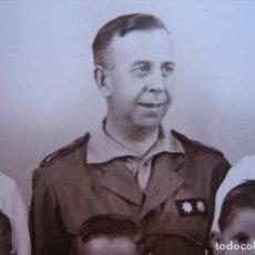 Militaria: FOTOGRAFÍA TENIENTE CORONEL HABILITADO DEL EJÉRCITO NACIONAL. CEUTA. Lote 80101957