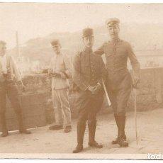 Militaria: POSTAL FOTOGRÁFICA, MELILLA. SOLDADOS ARTILLERÍA ALFONSO XIII - 8,5 X 13,5 CM. Lote 80389637