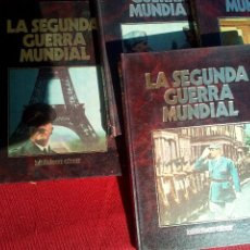 Militaria: 4 TOMOS ENCICLOPEDIA SEGUNDA GUERRA MUNDIAL. Lote 80466165