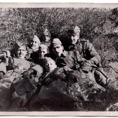 Militaria: FOTOGRAFÍA SOLDADOS CUERPO DE INGENIEROS - REGLAMENTO DEL 43 - 14 X 9 CM. Lote 80883371