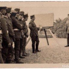 Militaria: FOTOGRAFÍA POSTAL ARTILLEROS ALFONSO XIII - 13,5 X 9. Lote 80887475