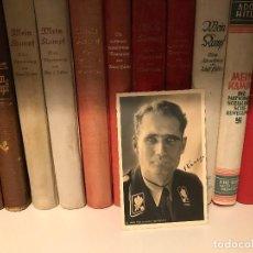 Militaria: FOTO POSTAL DE RUDOLF HESS AUTOGRAFIADA,FIRMADA, TERCER REICH, ADOLF HITLER, FUHRER,NSDAP,NAZI. Lote 81015236