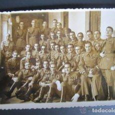Militaria: ANTIGUA FOTOGRAFÍA MILITARES. VALLADOLID, AÑO 1942. Lote 81380476