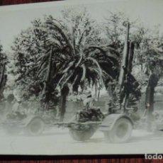 Militaria: FOTOGRAFIA DE BATERIAS ANTIAEREAS, PLENA GUERRA CIVIL, MIDE 11 X 8 CMS.. Lote 81468072