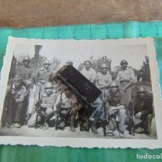 Militaria: FOTO FOTOGRAFIA GUERRA CIVIL REPUBLICANOS GUERRILLEROS MAQUIS ?? ALBESA LERIDA MAYO 1938. Lote 81735884