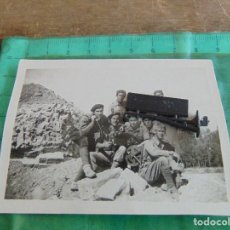Militaria: FOTO FOTOGRAFIA GUERRA CIVIL REPUBLICANOS GUERRILLEROS MAQUIS ?? ALBESA LERIDA MAYO 1938. Lote 81735968