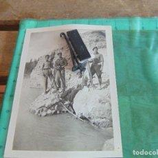 Militaria: FOTO FOTOGRAFIA GUERRA CIVIL REPUBLICANOS GUERRILLEROS MAQUIS ?? ALBESA LERIDA MAYO 1938. Lote 81736008