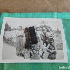 Militaria: FOTO FOTOGRAFIA GUERRA CIVIL REPUBLICANOS GUERRILLEROS MAQUIS ?? ALBESA LERIDA MAYO 1938. Lote 81736072