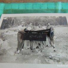 Militaria: FOTO FOTOGRAFIA GUERRA CIVIL REPUBLICANOS GUERRILLEROS MAQUIS ?? ALBESA LERIDA MAYO 1938. Lote 81736140