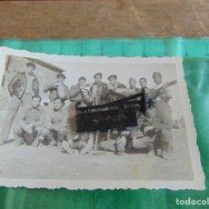 Militaria: FOTO FOTOGRAFIA GUERRA CIVIL REPUBLICANOS GUERRILLEROS MAQUIS ?? TORMOS HUESCA ENERO 1938 . Lote 81736316