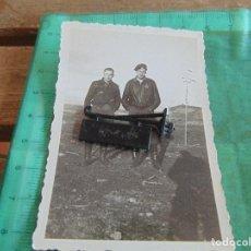 Militaria: FOTO FOTOGRAFIA GUERRA CIVIL REPUBLICANOS GUERRILLEROS MAQUIS ?? TORMOS HUESCA ENERO 1938 . Lote 81736368