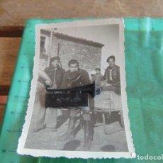 Militaria: FOTO FOTOGRAFIA GUERRA CIVIL REPUBLICANOS GUERRILLEROS MAQUIS ?? TORMOS HUESCA ENERO 1938 . Lote 81736404