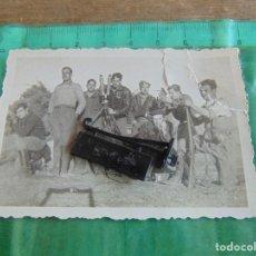 Militaria: FOTO FOTOGRAFIA GUERRA CIVIL REPUBLICANOS GUERRILLEROS MAQUIS ?? TORMOS HUESCA ENERO 1938 . Lote 81736568
