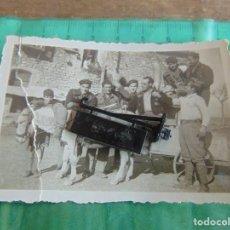 Militaria: FOTO FOTOGRAFIA GUERRA CIVIL REPUBLICANOS GUERRILLEROS MAQUIS ?? TORMOS HUESCA ENERO 1938 . Lote 81736644