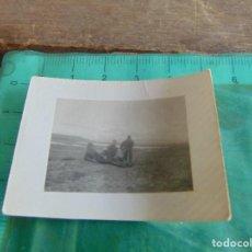 Militaria: FOTO FOTOGRAFIA GUERRA CIVIL REPUBLICANOS MAQUIS ?? EJEA DE LOS CABALLEROS ZARAGOZA DICIEMBRE 1937. Lote 81737768