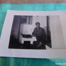 Militaria: FOTO FOTOGRAFIA GUERRA CIVIL REPUBLICANOS MAQUIS ?? EJEA DE LOS CABALLEROS ZARAGOZA DICIEMBRE 1937. Lote 81737888