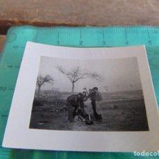 Militaria: FOTO FOTOGRAFIA GUERRA CIVIL REPUBLICANOS MAQUIS ?? EJEA DE LOS CABALLEROS ZARAGOZA DICIEMBRE 1937. Lote 81738168
