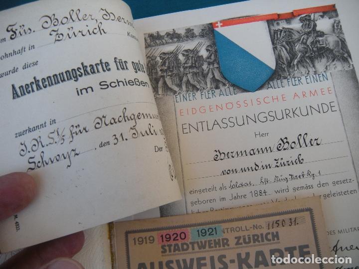 Militaria: ALBUM CON FOTOS AVIONES AVIACIÓN SUIZA 1913 Y OTROS - Foto 3 - 82195900
