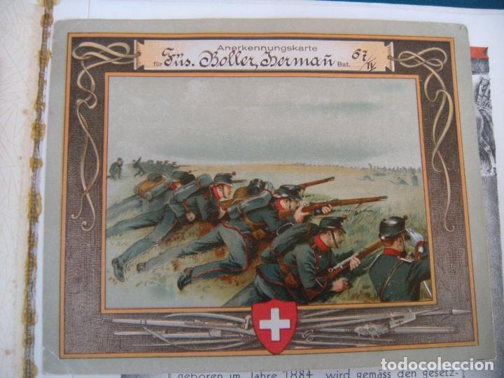 Militaria: ALBUM CON FOTOS AVIONES AVIACIÓN SUIZA 1913 Y OTROS - Foto 4 - 82195900