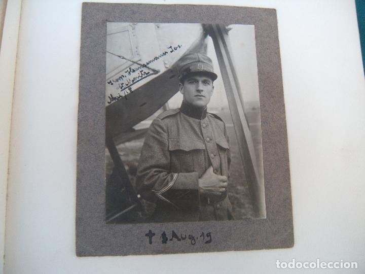 Militaria: ALBUM CON FOTOS AVIONES AVIACIÓN SUIZA 1913 Y OTROS - Foto 9 - 82195900
