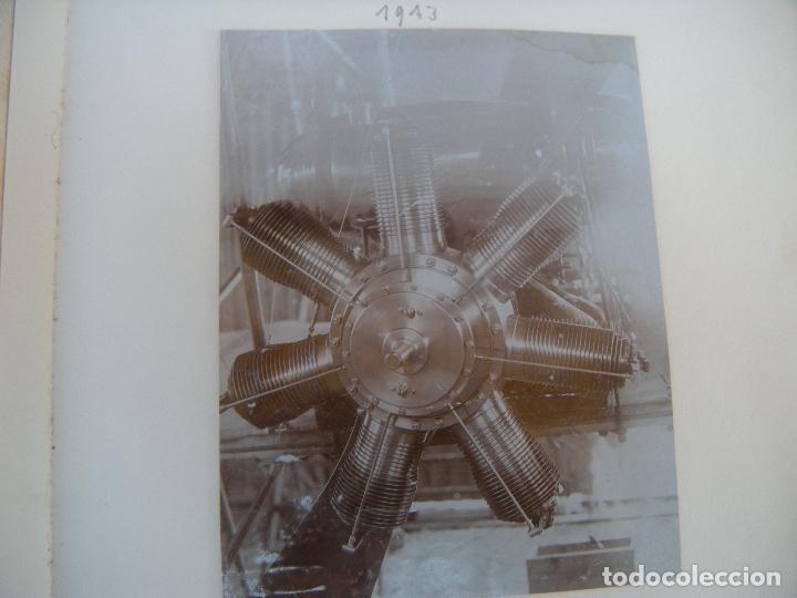 Militaria: ALBUM CON FOTOS AVIONES AVIACIÓN SUIZA 1913 Y OTROS - Foto 10 - 82195900