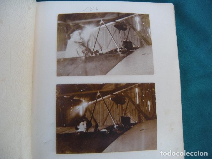 Militaria: ALBUM CON FOTOS AVIONES AVIACIÓN SUIZA 1913 Y OTROS - Foto 11 - 82195900