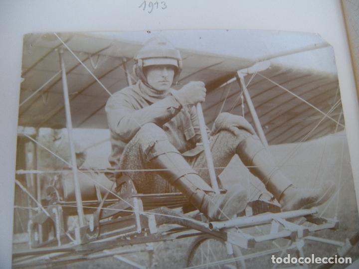 Militaria: ALBUM CON FOTOS AVIONES AVIACIÓN SUIZA 1913 Y OTROS - Foto 18 - 82195900