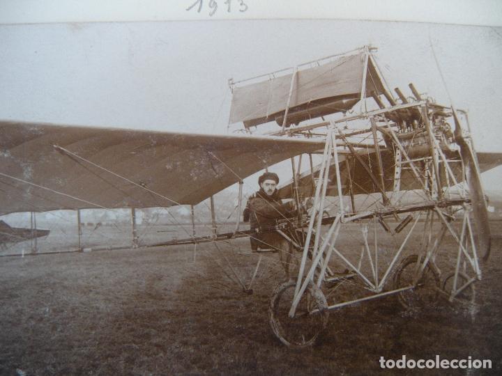 Militaria: ALBUM CON FOTOS AVIONES AVIACIÓN SUIZA 1913 Y OTROS - Foto 19 - 82195900