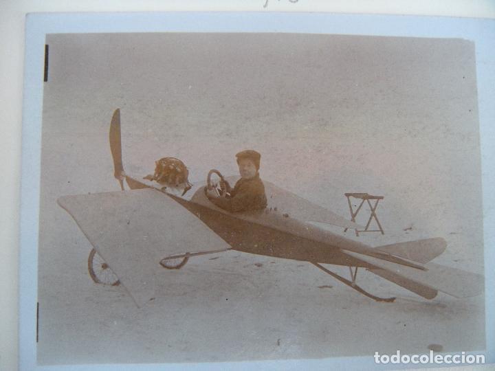 Militaria: ALBUM CON FOTOS AVIONES AVIACIÓN SUIZA 1913 Y OTROS - Foto 20 - 82195900
