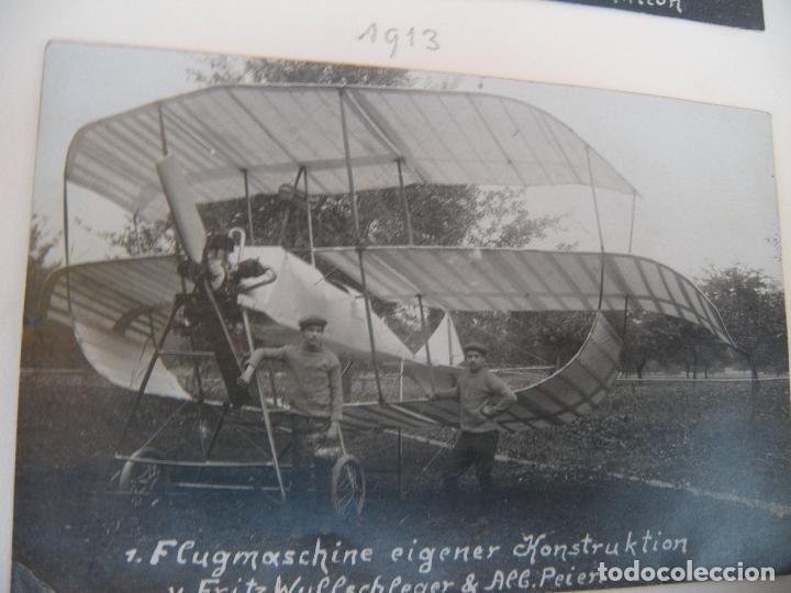 Militaria: ALBUM CON FOTOS AVIONES AVIACIÓN SUIZA 1913 Y OTROS - Foto 21 - 82195900