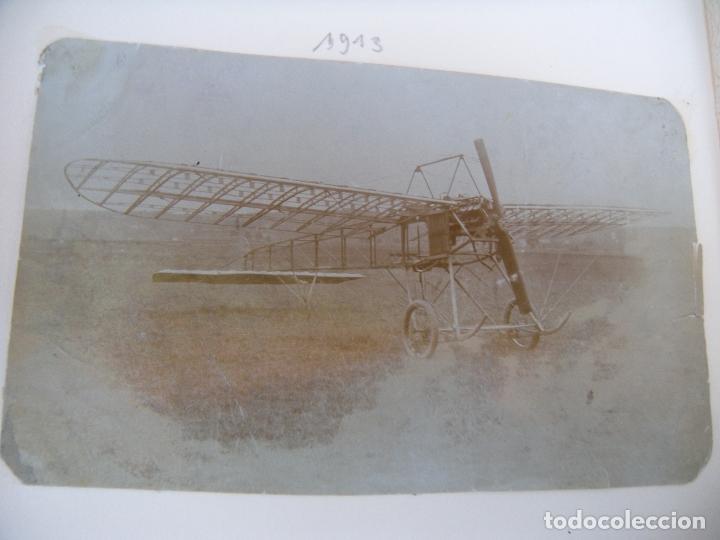 Militaria: ALBUM CON FOTOS AVIONES AVIACIÓN SUIZA 1913 Y OTROS - Foto 22 - 82195900