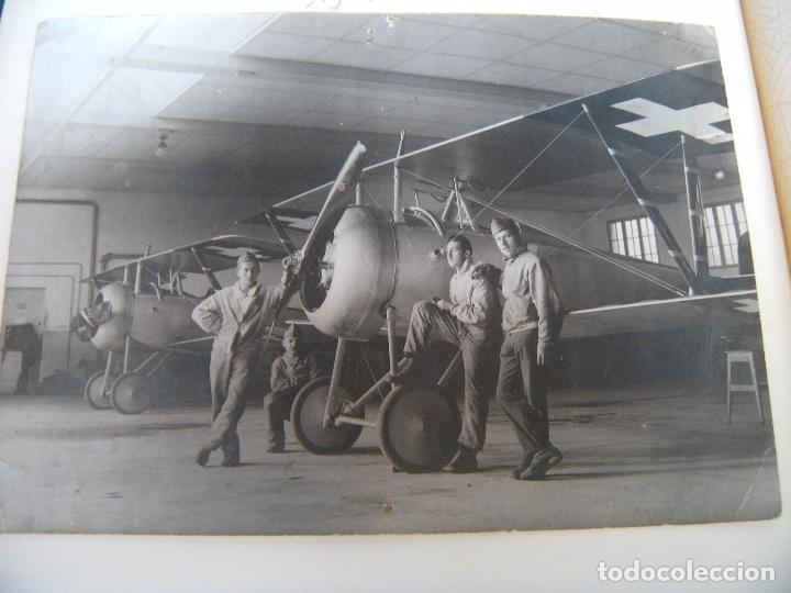 Militaria: ALBUM CON FOTOS AVIONES AVIACIÓN SUIZA 1913 Y OTROS - Foto 24 - 82195900
