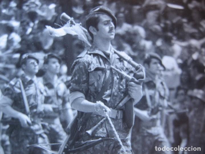 FOTOGRAFÍA GUERRILLERO COES. DESFILE DE LA VICTORIA MADRID (Militar - Fotografía Militar - Otros)