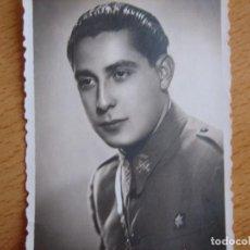 Militaria: FOTOGRAFÍA ALFÉREZ PROVISIONAL DEL EJÉRCITO ESPAÑOL.. Lote 82497240