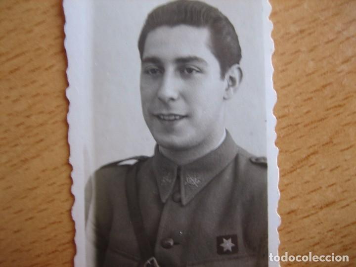 FOTOGRAFÍA ALFÉREZ PROVISIONAL DEL EJÉRCITO NACIONAL. (Militar - Fotografía Militar - Guerra Civil Española)