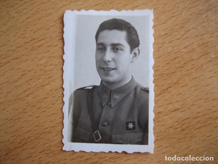 Militaria: Fotografía alférez provisional del ejército nacional. - Foto 2 - 82499260