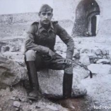 Militaria: FOTOGRAFÍA ALFÉREZ PROVISIONAL DEL EJÉRCITO ESPAÑOL.. Lote 82650188