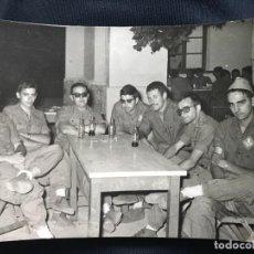 Militaria: ANTIGUA FOTOGRAFÍA MILITAR SOLDADOS INGENIEROS - CUERPO DE INGENIEROS EJÉRCITO ESPAÑOL. Lote 82768180